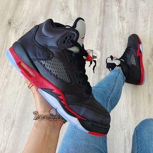 Nike air jordan 5 retro sneakers